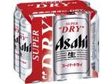 アサヒ スーパードライ 缶 500ml×6