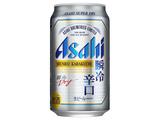 アサヒ スーパードライ 瞬冷辛口 缶 350ml