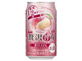 アサヒ 贅沢搾り桃 缶 350ml