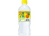 甘熟パイン&サントリー天然水 ペット 540ml