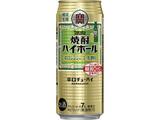 タカラ焼酎ハイボール辛口ジンジャーエール割り500