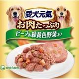 愛犬元気 ビーフ&緑黄色野菜 缶 375g