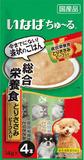 犬用ちゅ~る総合栄養食とりささみビーフ14g×4本