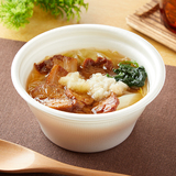 にんにく背脂醤油ラーメン風スープ(麺なし)