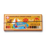 サクラ クレパス太巻 16色ゴム付 LP16R